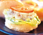 Shrimp and Spicy Mayonnaise Mini Sandwiches
