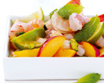 Shrimp, Lime and Nectarine Salad