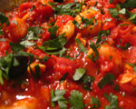 Shrimp with Tomato and Herbs