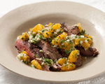Skirt Steak with Orange Salsa