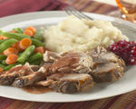 Slow-Cooked Spiced-Cranberry Pork Roast