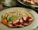 Smoke And Fire Pork Tenderloin with Sweet Onion Slaw