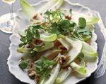 Smoked Trout, Apple and Endive Salad