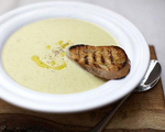 Smooth Leek and Potato Soup