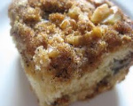 Walnut Crumb Sour Cream Coffee Cake