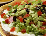 Southwestern Layered Bean Dip