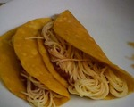 Spaghetti Tacos