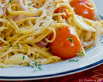 Spaghetti with Balsamic Tomatoes