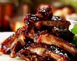 Baked Barbecue Spareribs