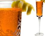 Sparkling Prosecco and Aperol Spritz