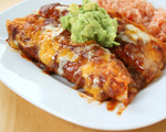 Spicy Cheese Enchiladas