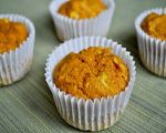 Spiced Carrot Bran Muffins