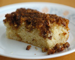 Spiced Coffee Cake