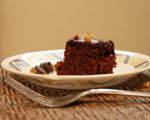 Spiced Molasses Cake