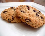Spiced Raisin Cookies