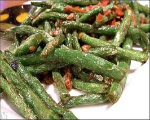 Pine Nut Green Beans