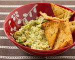 Spicy Guacamole with Roasted Tomatillos