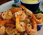 Spicy Shrimp with Tangy Coconut Sauce