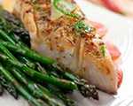 Spicy Tilapia with Asparagus
