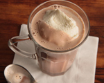 Spiked Hazelnut Hot Chocolate