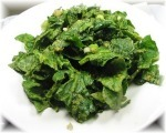 Spinach with Sprouts