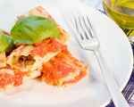 Spinach lasagna cheesy rolls