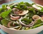 Hearty Spinach and Mushroom Salad