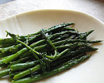 Steamed Asparagus with Lemon Zest