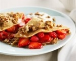 Stephanie's Berry Crunchy Crepes