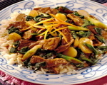 Stir Fried Orange Beef