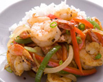 Stir-Fry Black Pepper Shrimp