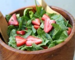 Romaine Strawberry Salad