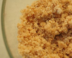 Streusel and Nut Topping