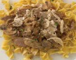 Beef Mushroom Stroganoff