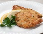 Stuffing Crusted Turkey Cutlets