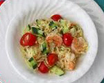 Succulent Shrimp and Pasta Salad