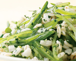 Sugar Snap Pea and Barley Salad
