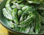 Sugar Snap Pea Salad with Creamy Tarragon Dressing