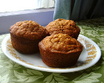 Sugar-Free Pumpkin Muffins