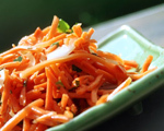 Sweet and Sour Carrot and Onion Salad