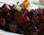 Sweet Beets with Walnuts and Chevre