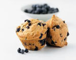 Sweet Blueberry Oat Muffins