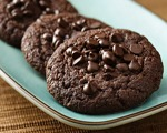 Sweet Double Chocolate Cookies
