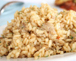 Sweet Italian Sausage Risotto