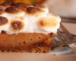 Marshmallow Topped Sweet Potato Pie