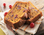 Sweet Pumpkin Cranberry Bread