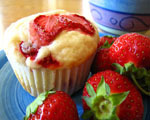 Sweet Strawberry Muffins