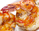 Tangy Jumbo Shrimp with Coconut Dipping Sauce