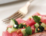 Tangy Watermelon Salad