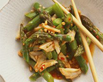 Thai Asparagus and Crab Salad